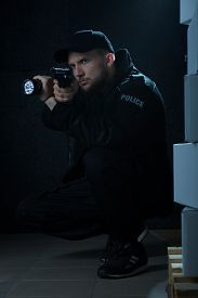 picture of police  - Experienced police officer working at secret police - JPG