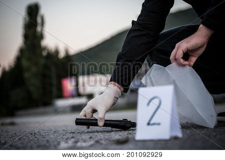 The Crime Scene Murder Investigation