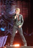 NEW JERSEY - MAY 29: The rock band Bon Jovi performs at the new Meadowlands Arena on May 29, 2010 in
