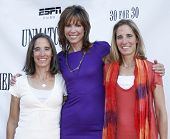 NEW YORK - AUGUST 26: Executive producers Lisa Lax, Hannah Storm and Nancy Stern Winters attend ESPN