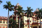 stock photo of british bombay  - Big University of Varanasi India Asia  - JPG