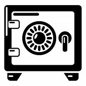 Safe Icon. Simple Illustration Of Safe Icon For Web poster
