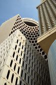 image of hsbc  - Close up of Modern Building in Dubai - JPG
