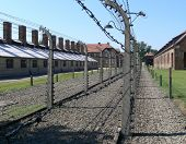 stock photo of auschwitz  - The State Museum of Auschwitz - JPG