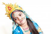 image of lord krishna  - Girl Krishna  - JPG