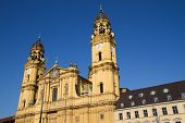 stock photo of munich residence  - The historic   - JPG