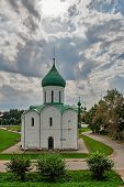 stock photo of yuri  - The Golden ring of Russia Cathedral of Spaso - JPG