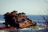 picture of tanah  - Tanah Lot Temple on Sea in Bali Island Indonesia - JPG