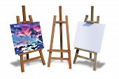 ������, ������: Painting Easels