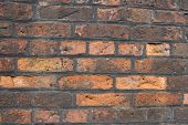 Old Weathered Brick Wall Background Texture poster