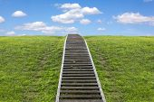 image of stairway to heaven  - Staircase to heaven - JPG