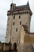 stock photo of anjou  - Castle of Chinon  - JPG