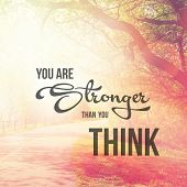 picture of thought  - Inspirational Typographic Quote  - JPG