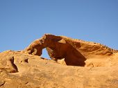 picture of valley fire  - Valley of Fire State Park window rock  - JPG