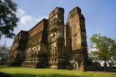 pic of hughes  - Ancient brick construction temple in Polonnaruwa Sri lanka - JPG