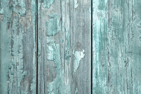 pic of mint-green  - Shabby Style: Turquoise or mint green wooden old patterned background in vintage style. ** Note: Shallow depth of field - JPG