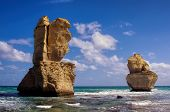 pic of 12 apostles  - beautiful twelve apostles at ocean in Australia - JPG