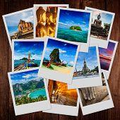 image of storyboard  - Thai travel tourism concept design  - JPG