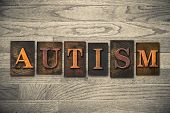 image of autism  - The word  - JPG