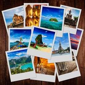 picture of storyboard  - Thai travel tourism concept design  - JPG