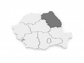 picture of suceava  - Map of Northeast Region Development Romania - JPG