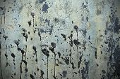 picture of tar  - Metal texture or background with stamps of tar - JPG