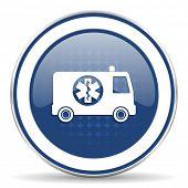 foto of ambulance  - ambulance icon   - JPG
