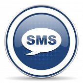 foto of sms  - sms icon message sign  - JPG