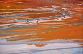 image of greenpeace  - Pollution of a lake with contaminated water from a gold mine - JPG