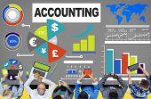 picture of revenue  - Accounting Investment Expenditures Revenue Data Report Concept - JPG