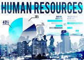 picture of recruiting  - Human Resources Recruitment Career Job Hiring Concept - JPG