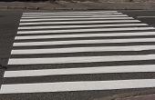 foto of zebra crossing  - Zebra crossing traffic walk way road photo - JPG