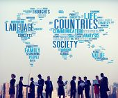 picture of racial diversity  - Countries Diversity Diverse People Community Communication Concept - JPG