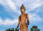 image of hindu  - Ancient Buddha hindu statue at Sala Kaew Ku Nongkhai Thailand - JPG
