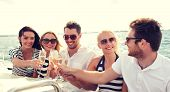 stock photo of champagne glasses  - vacation - JPG