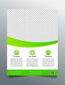 foto of prospectus  - Modern business flyer template  - JPG
