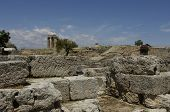 Постер, плакат: Ruins Of Historical Ancient Corinth