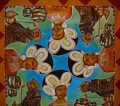 Ndebele And Swazi Mural