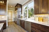 Lovely Kitchen With High-end Appliances poster