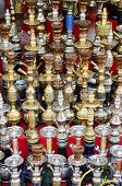 picture of shisha  - narguileh shisha water pipes in cairo egypt - JPG