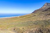 Jandia Peninsula, Fuerteventura Island, Canary Islands, Spain. Cofete Beach (playa De Cofete) On The poster