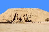 Постер, плакат: Храмы Абу Симбел