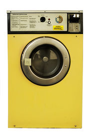 stock photo of washing machine  - Old vintage coin - JPG