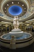 Las Vegas, Nevada - April 12, 2011: Caesars Palace Hotel Reception Hall On April 12, 2011 In Las Veg