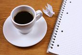 picture of ring-dove  - Morning coffee inspiration - JPG