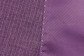 pic of rayon  - close up of the violet suit texture - JPG
