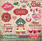 stock photo of cupcakes  - Valentine - JPG