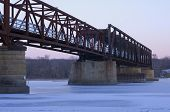 Old Rock Island Swing Bridge