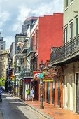 foto of balustrade  - NEW ORLEANS USA  - JPG