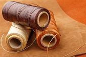 image of thread-making  - Thread for leather craft - JPG